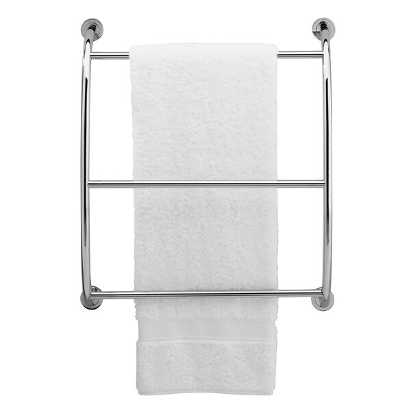 Beautiful Chrome Towel Rack Wall Mounted Part - 7: Valsan Essentials Wall Mounted Towel Rack U0026 Reviews | Wayfair