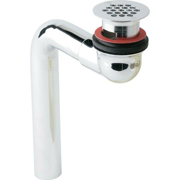 1.25Grid Bathroom Sink Drain Fitting with Perforated Grid by Elkay