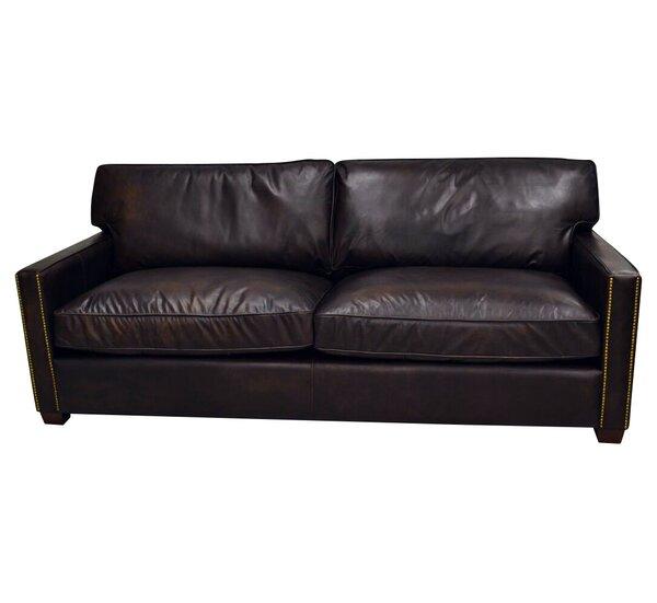 Amesbury Leather Sofa by Trent Austin Design