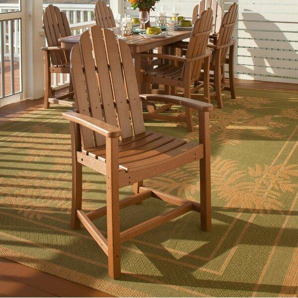 Classic Adirondack Teak Patio Dining Chair by POLYWOOD POLYWOOD®