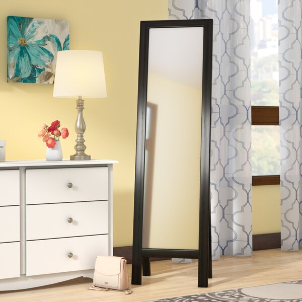 Neumann Easel Floor Cheval Mirror by Andover Mills