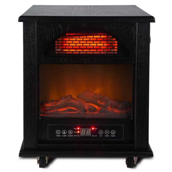 Portable 1500 Watt Electric Infrared Cabinet Heater by Della