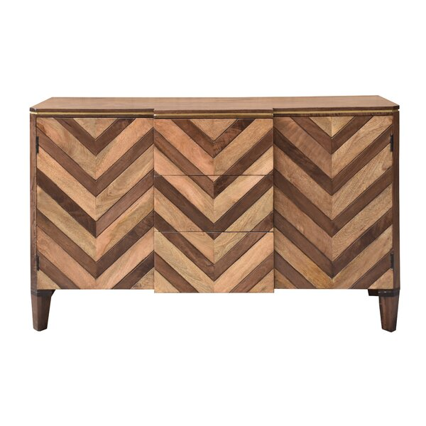 Ved 2 Door 3 Drawer Credenza by Union Rustic