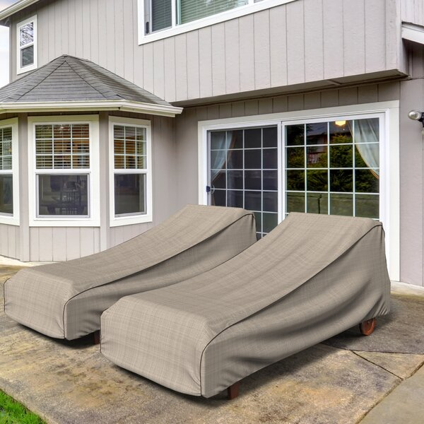 English Garden Outdoor Chaise Lounge Cover by Budge Industries