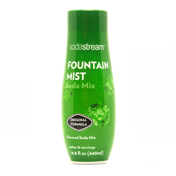 Fountain Mist Sparkling Drink Mix (Set of 4) by SodaStream