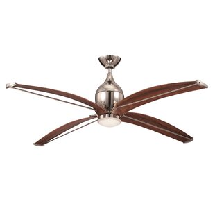 Shop For 60 Ancey 4-Blade Ceiling Fan with Wall Remote By 17 Stories