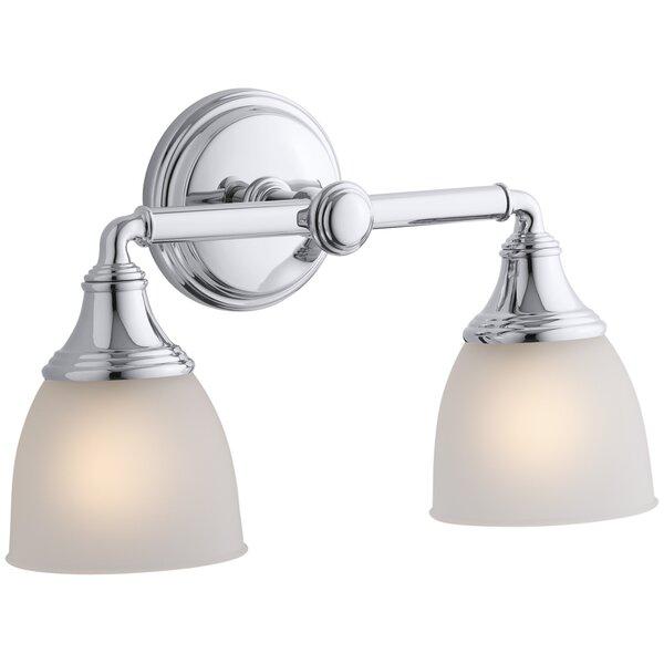 Devonshire 2-Light Vanity Light by Kohler