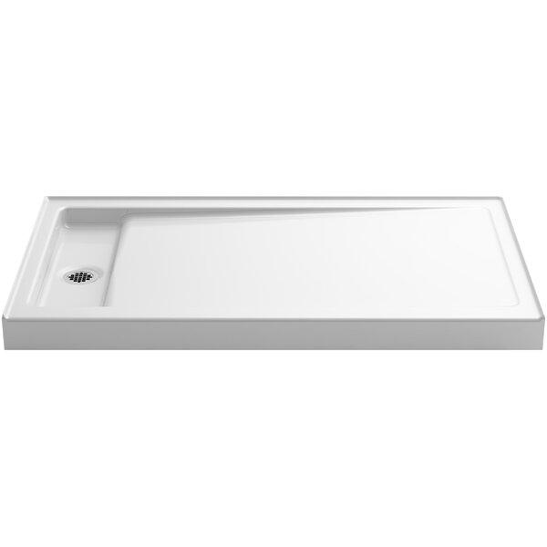 Kohler Bellwether Single Threshold Shower Base With Left Center Drain U0026  Reviews   Wayfair