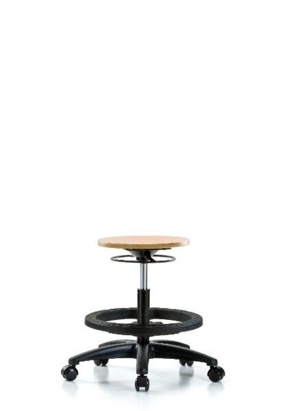 Joana Height Adjustable Lab Stool by Symple Stuff