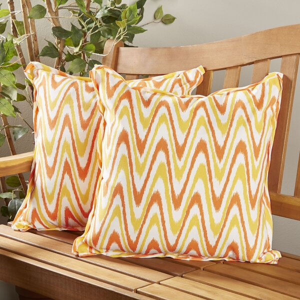 Merauke Indoor/Outdoor Throw Pillow (Set of 2) by Latitude Run