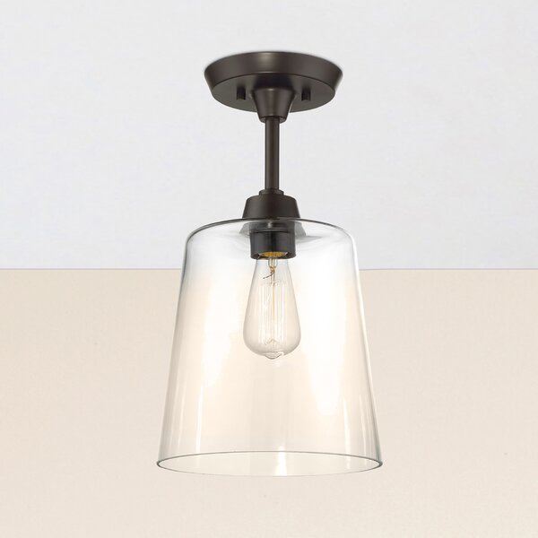 Claybourne 1-Light Flush Mount by Birch Lane™