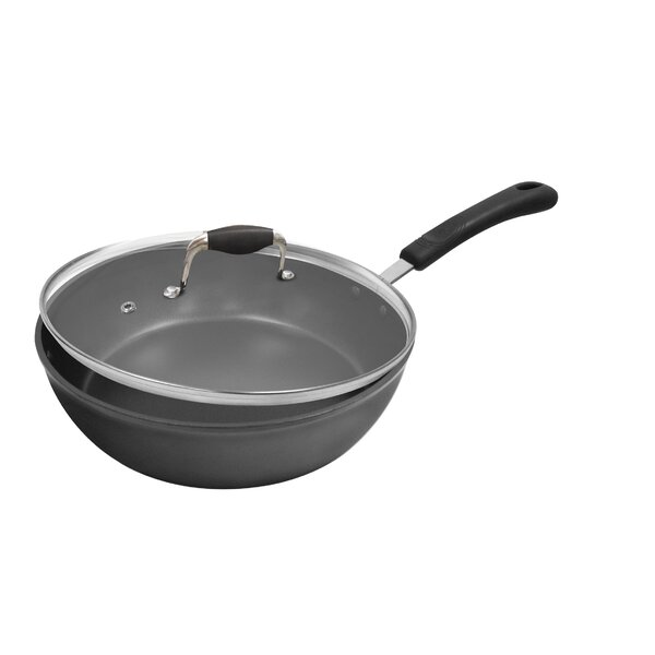 Symphony 4-qt. Deep Saute Pan with Lid by Ecolution