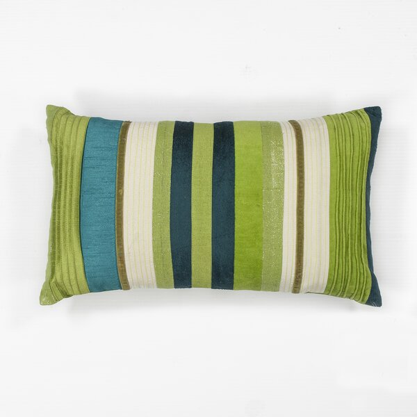 Brinsley Stripes Lumbar Pillow by Bay Isle Home
