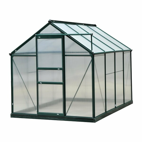 6 Ft. W x 8 Ft. D Greenhouse by Outsunny
