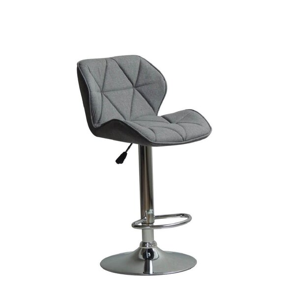 Graysen Adjustable Height Swivel Bar Stool by Ivy Bronx