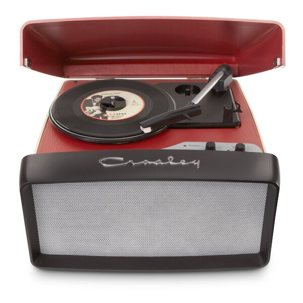 Collegiate Portable USB Turntable by Crosley Elect
