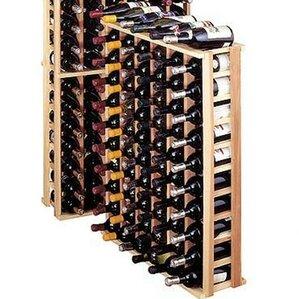 Premium Redwood 66 Bottle Floor Wine Rack by Wine Cellar Innovations
