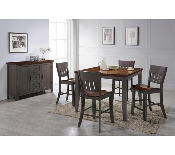 Adalard 6 Piece Dining Set by August Grove