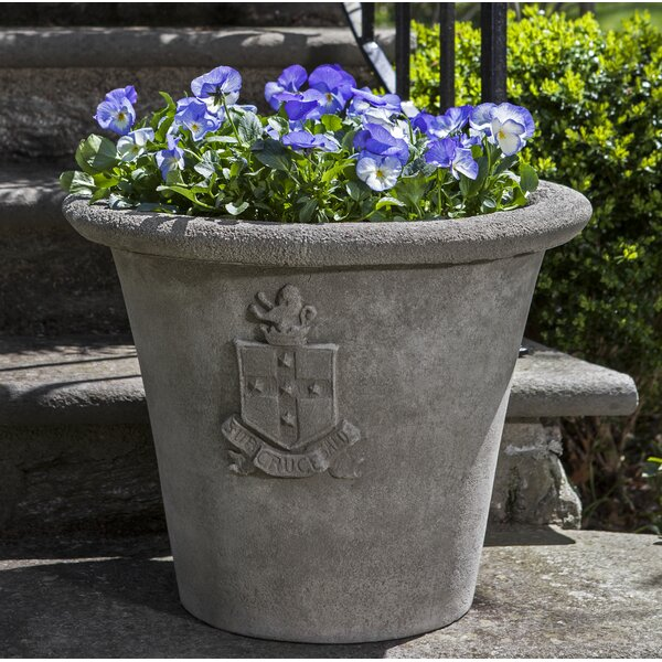Regent Cast Stone Pot Planter by Campania International