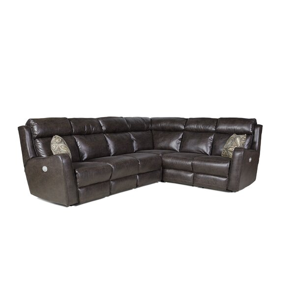 First Class Reclining Sectional by Southern Motion