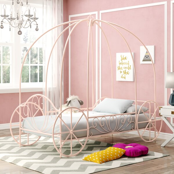 Emily Twin Canopy Bed by Viv + Rae