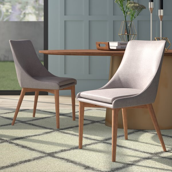 Blaisdell Upholstered Dining Chair (Set of 2) by Mercury Row