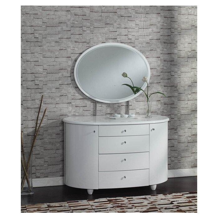 home haus schminktisch borviewe mit spiegel. Black Bedroom Furniture Sets. Home Design Ideas
