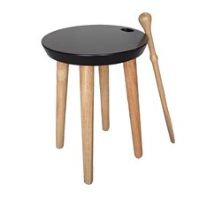 Shogun Shoe Round Stool by Proman Products