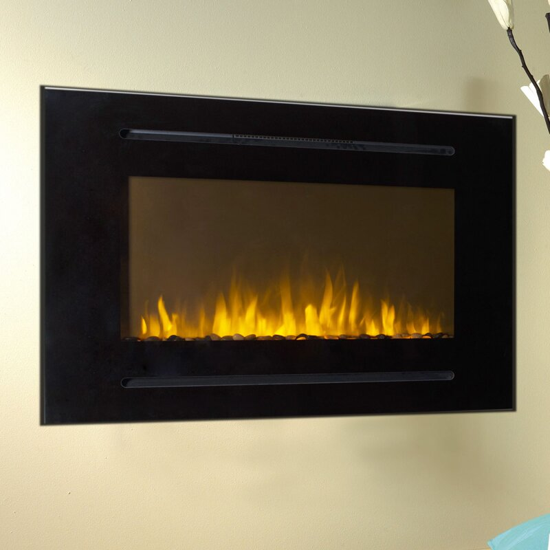 Touchstone Forte Wall Mount Electric Fireplace & Reviews | Wayfair : wall mounted electric fireplaces : Electric Fireplace