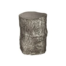 Nickel Tree Trunk Accent Stool by Hekman