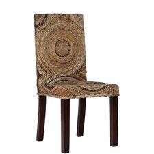 Circles Banana Leaf Side Chair by Ibolili