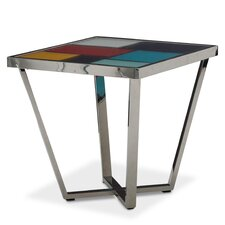 Kube End Table by Michael Amini (AICO)
