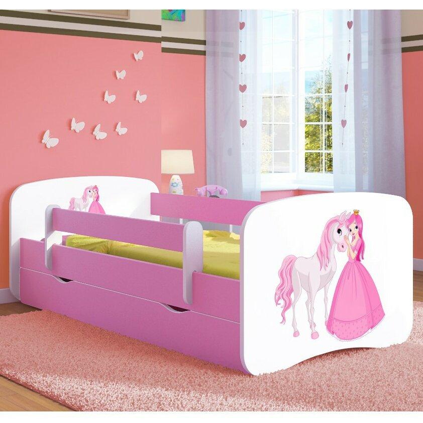 kocot kids anpassbares schlafzimmer set pinke princess pony mit stauraum bewertungen. Black Bedroom Furniture Sets. Home Design Ideas