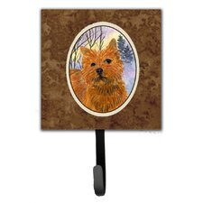 Norwich Terrier Wall Hook by Caroline's Treasures