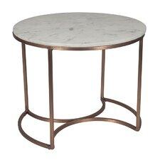Metal/Marble Orbit Table by BIDKhome