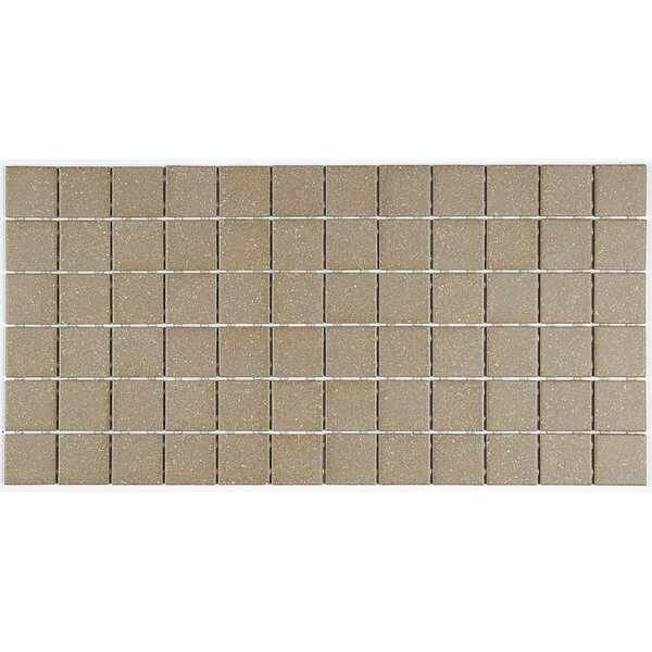 Dalton 12 x 24 Porcelain Mosaic Tile in Medium Brown by Itona Tile