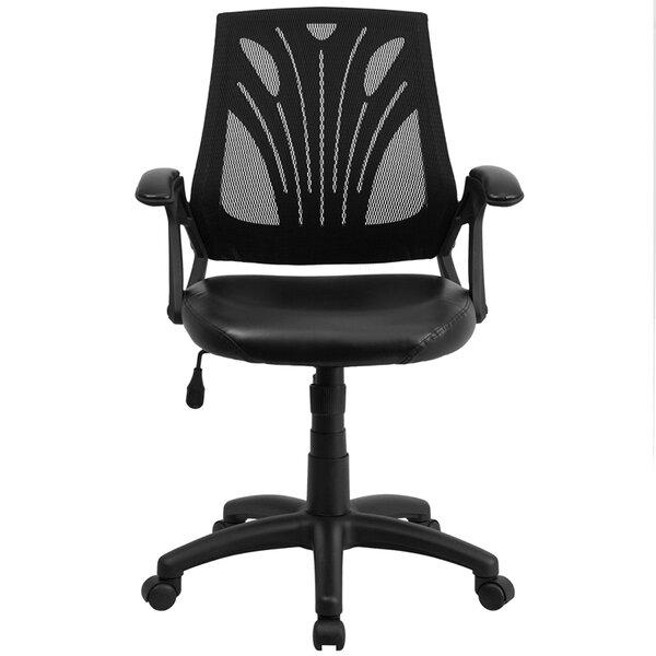 Hutcherson Mid-Back Mesh Desk Chair by Winston Porter