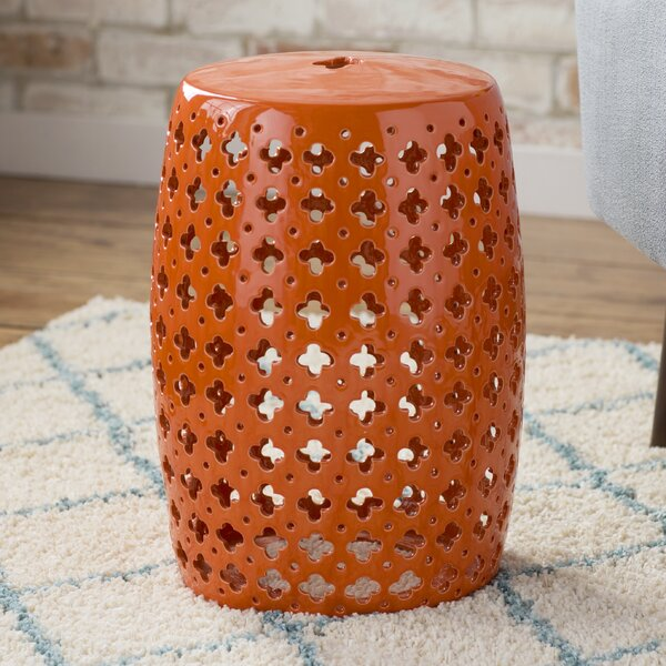 Gisella Garden Stool by World Menagerie
