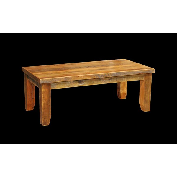 Jorgensen Coffee Table with Legs by Loon Peak