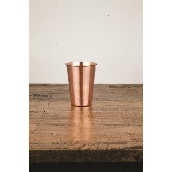 Admiral Solid Copper Pint16 oz. Glass by Viski