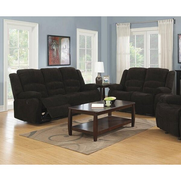 Oakely Motion 2 Piece Reclining Living Room Set by Red Barrel Studio