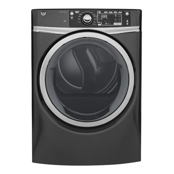 8.3 cu. ft. High Efficiency Electric Dryer with Steam by GE Appliances
