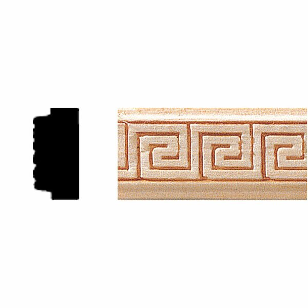 3/8 in. x 3/4 in. x 8 ft. Hardwood Panel Moulding by Manor House
