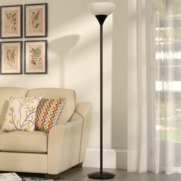 Delisio 71 Torchiere Floor Lamp by Andover Mills