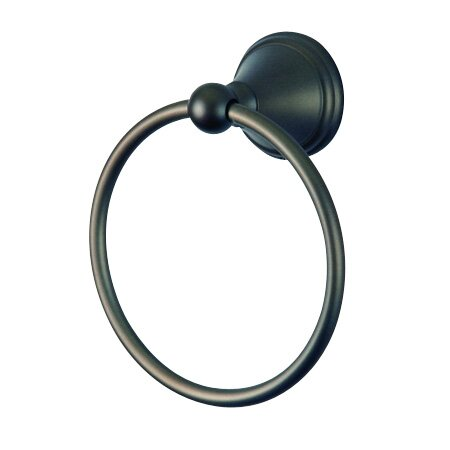 South Beach Wall Mounted Towel Ring by Elements of Design