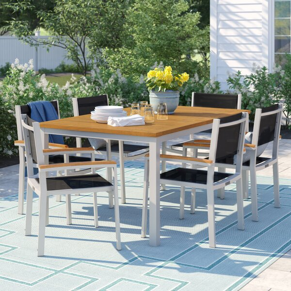 Caspian 7 Piece Dining Set by Sol 72 Outdoor Sol 72 Outdoor