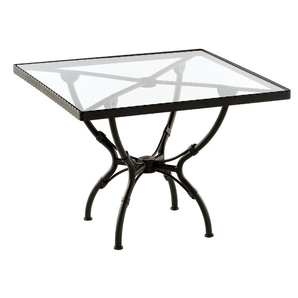 Aikens Square Aluminum Dining Table by One Allium Way