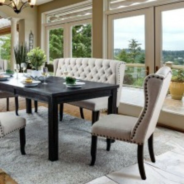 Dulin 6 Piece Pub Table Set by Gracie Oaks