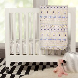 Best Reviews Desert Dreams Mini 4 Piece Crib Bedding Set By babyletto