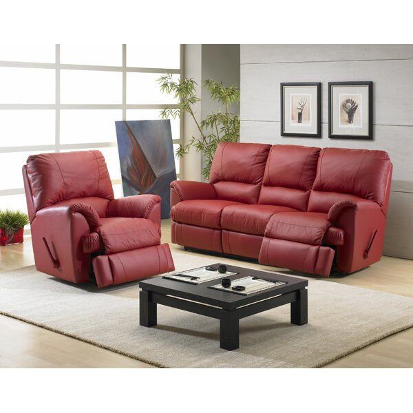 Mylaine Reclining Configurable Living Room Set by Relaxon